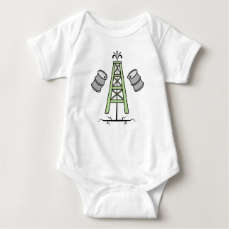 Body Para Bebê Plataforma petrolífera de Fracking