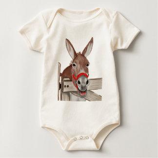 Body Para Bebê Png feliz da mula