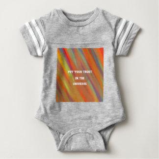 Body Para Bebê Pnha sua confiança no universo