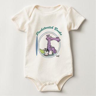 Body Para Bebê Pocketwatch registra o logotipo