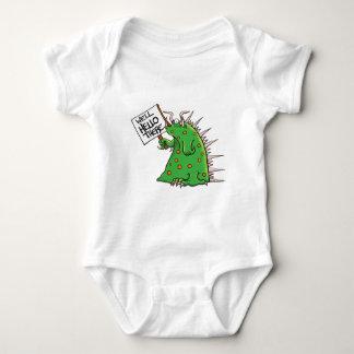 Body Para Bebê Poço do gráfico de Greep olá! lá