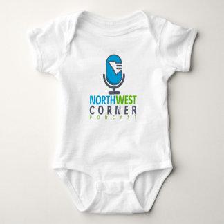 Body Para Bebê Podcast de canto noroeste do material | do bebê