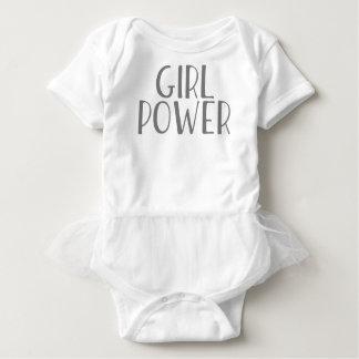 Body Para Bebê Poder da menina
