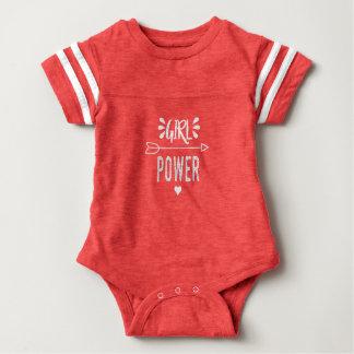 Body Para Bebê Poder da menina o dia inteiro
