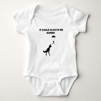 Body Para Bebê Podia sempre ser mais mau