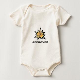 Body Para Bebê polegares aprovados yeah