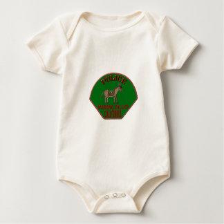 Body Para Bebê Polícia de Moreno Valley