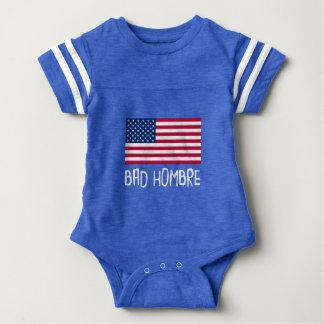 Body Para Bebê Política má de Hombre