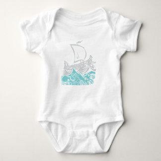 Body Para Bebê Polvo, calamar, gregos: O trio terrível