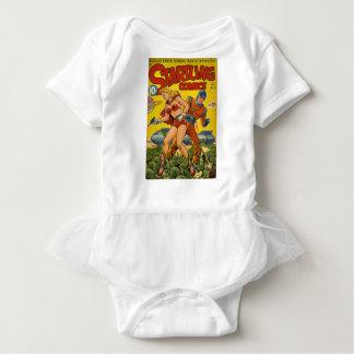 Body Para Bebê polvo minúsculos