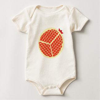 Body Para Bebê pomegrante no interior