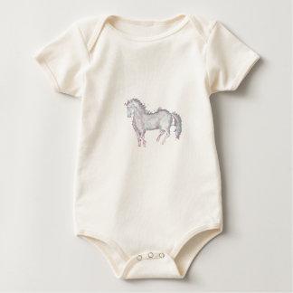 Body Para Bebê Pônei