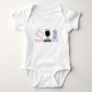 Body Para Bebê Ponto da cerveja de Texas