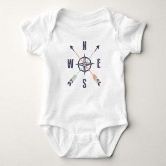 Body Para Bebê Pontos de compasso