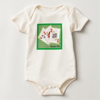 Body Para Bebê Póquer selvagem das fraldas