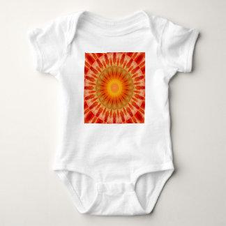 Body Para Bebê Por do sol da mandala