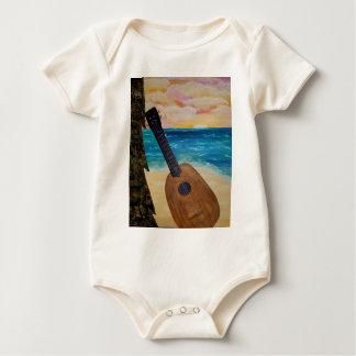Body Para Bebê por do sol de Havaí