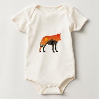 Body Para Bebê Por do sol Foxy