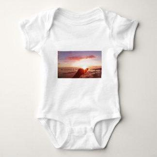 Body Para Bebê Por do sol maravilhoso e incrível nas Filipinas