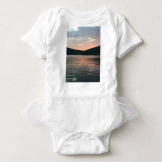 Body Para Bebê Por do sol na água