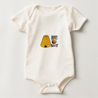 Body Para Bebê porca do mel