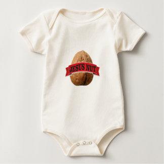 Body Para Bebê porca vermelha de Jesus