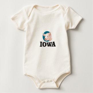 Body Para Bebê porcos de iowa