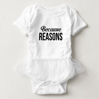 Body Para Bebê Porque razões