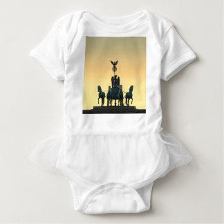 Body Para Bebê Porta de Brandemburgo 001 do Quadriga, Berlim