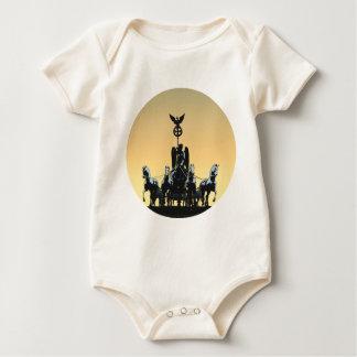 Body Para Bebê Porta de Brandemburgo 002,1 rd do Quadriga de