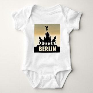 Body Para Bebê Porta de Brandemburgo do Quadriga 002,1 de BERLIM