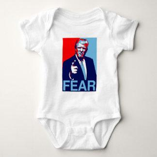 """Body Para Bebê Poster 2017 da paródia do """"medo"""" de Donald Trump"""