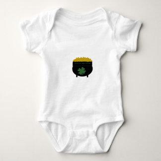 Body Para Bebê Pote de ouro