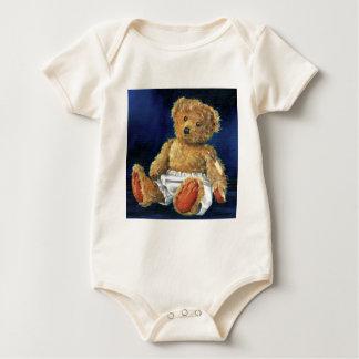 Body Para Bebê Pouca bolota, um ursinho favorito