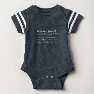 Body Para Bebê pouco bebê feito sob encomenda do texto da