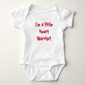 Body Para Bebê Pouco guerreiro do coração!