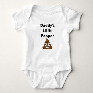 Body Para Bebê Pouco Pooper do pai