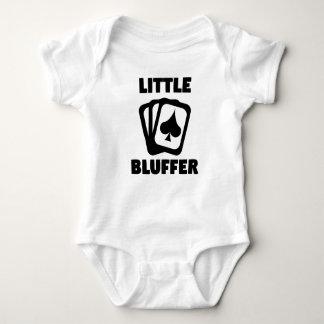 Body Para Bebê Pouco póquer de Bluffer