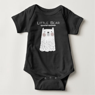 Body Para Bebê Poucos animais da floresta do urso