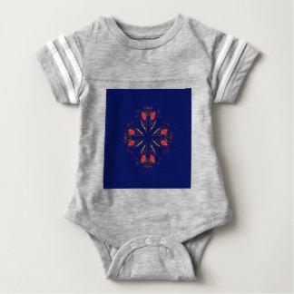 Body Para Bebê POVOS do azul dos elementos do design