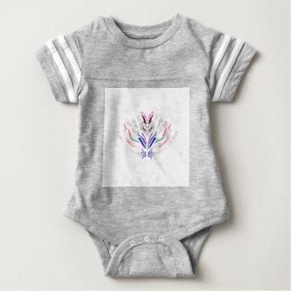 Body Para Bebê Povos do branco dos elementos do design