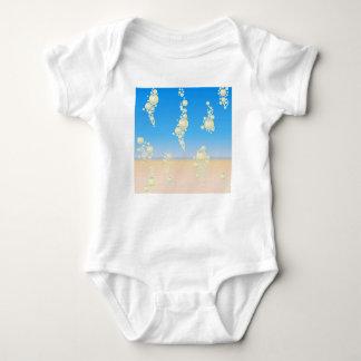Body Para Bebê Praia com bolhas
