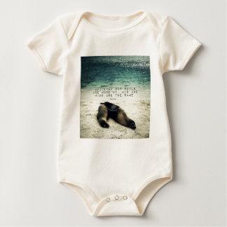 Body Para Bebê Praia romântica Emily Bronte das citações do casal
