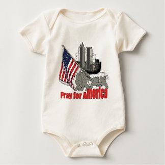 Body Para Bebê Pray para América