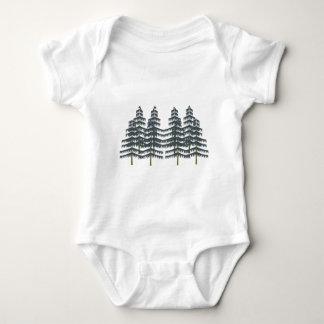 Body Para Bebê Prazeres verdes