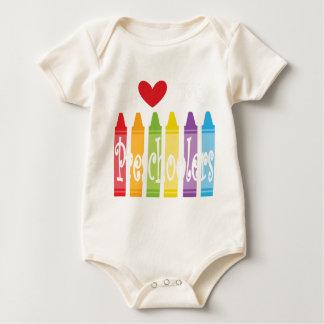 Body Para Bebê pré-escolar teacher2