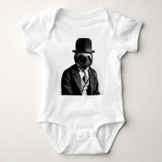 Body Para Bebê Preguiça #2 do cavalheiro