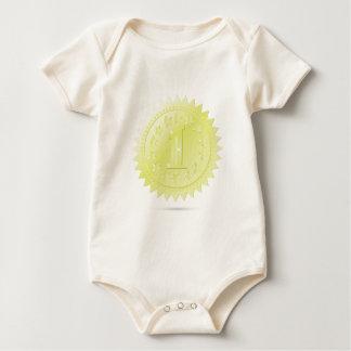 Body Para Bebê prêmio dourado