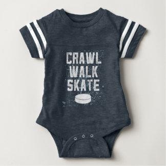 Body Para Bebê Presente do bodysuit do bebê do hóquei em gelo do