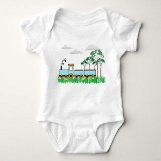 Body Para Bebê Presente do chá de fraldas - t-shirt - meninos